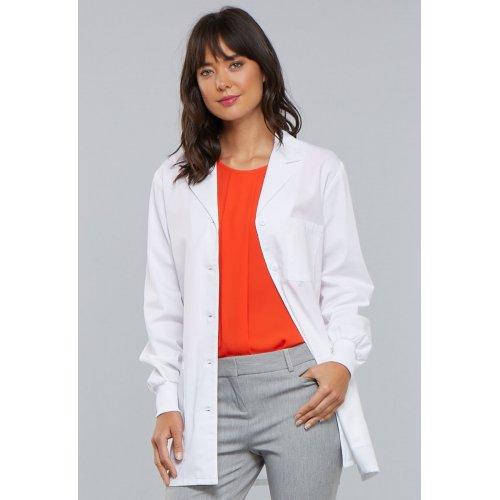 """32"""" Lab Coat in White"""
