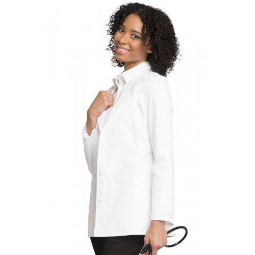 """28"""" Lab Coat in White"""
