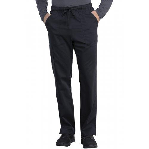 Unisex Mid Rise Straight Leg Pant