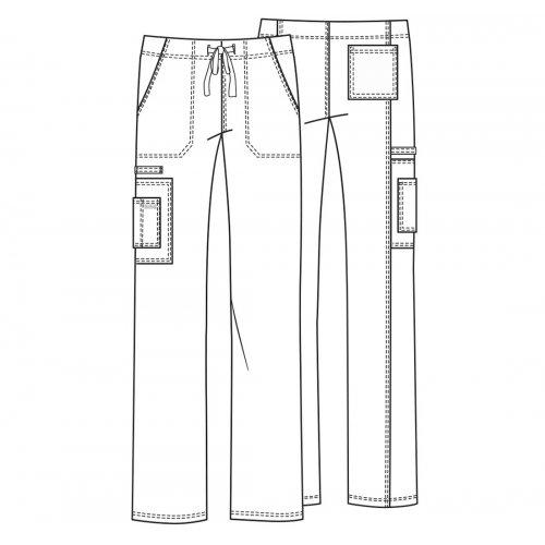 Unisex Drawstring Cargo Pant