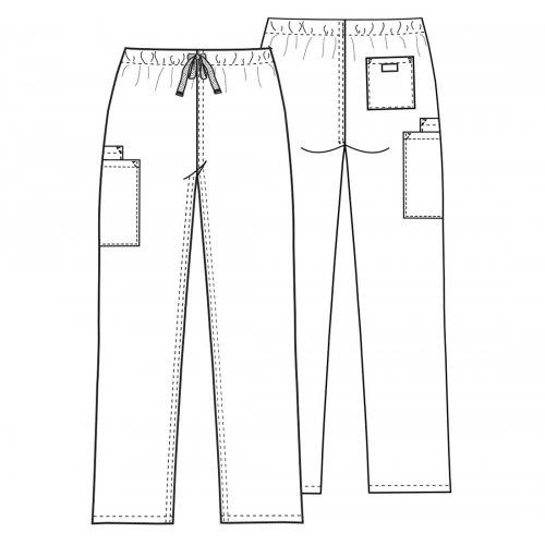 Unisex Drawstring Cargo Pant - Tall
