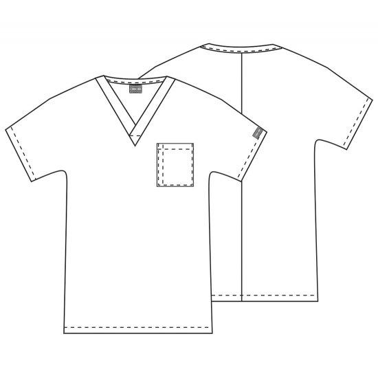 Unisex V-Neck Tunic