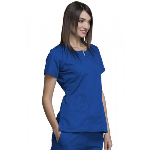 Round Neck Top in Royal