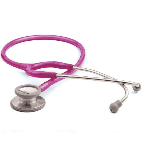 Adscope® 603 Clinician Stethoscope - Metallic Raspberry