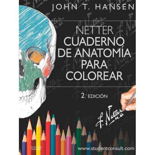 Netter - Cuaderno de Anatomía para colorear