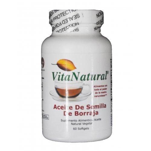 Aceite de Semilla de Borraja (60 cápsulas)