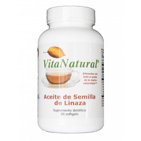 Aceite de Semilla de Linaza (90 cápsulas)